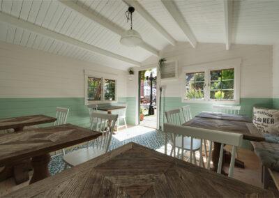 Indoor Chalet Restaurant